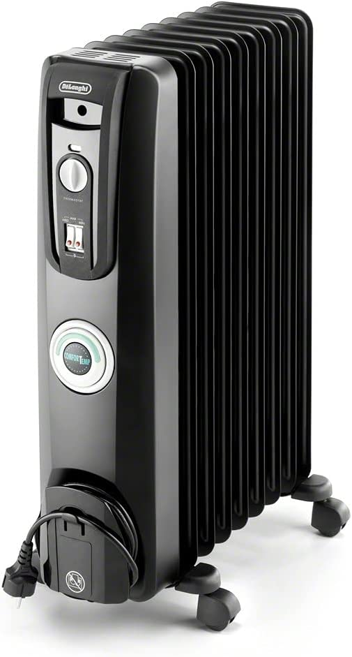 Image of DeLonghi Oil-Filled Radiator Space Heater