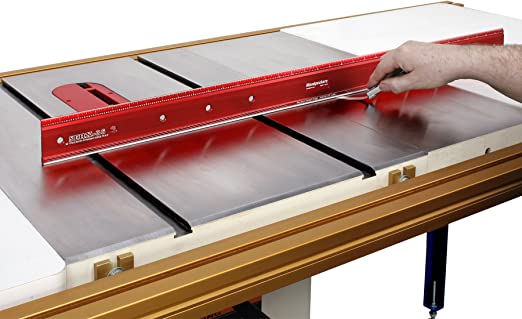 """Woodpeckers Precision Woodworking Tools SERXL-24 Straight Edge Rule, 24"""""""