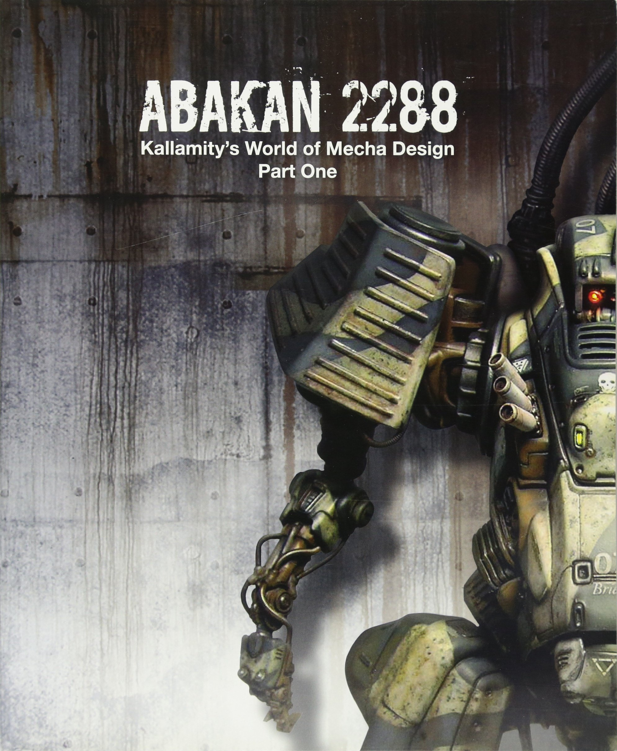 Book Preview: ABAKAN 2288: Kallamity's World of Mecha Design Part One